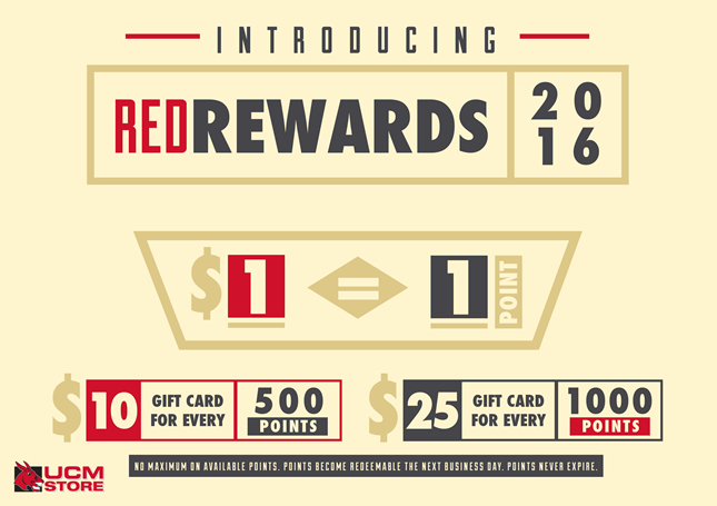 Red Rewards Banner