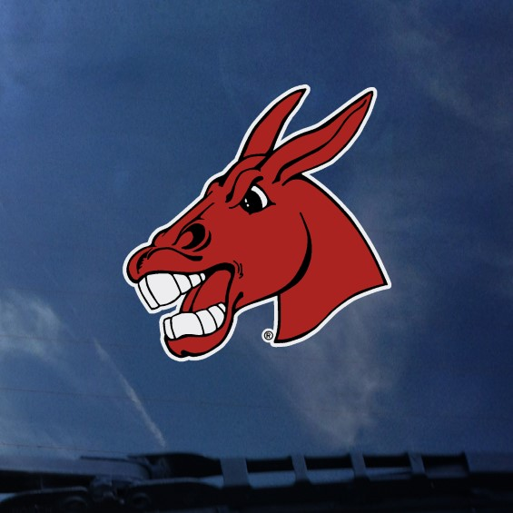 Image For MULE HEAD DECAL