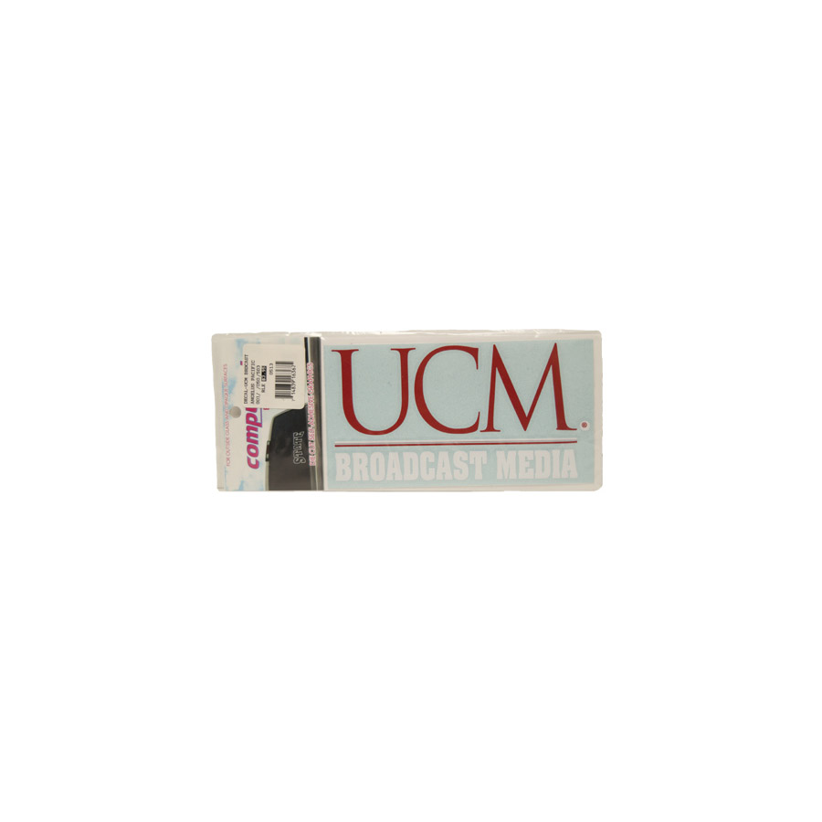 "Image For UCM BROADCAST MEDIA DECAL <font color=""red"">Clearance</font>"