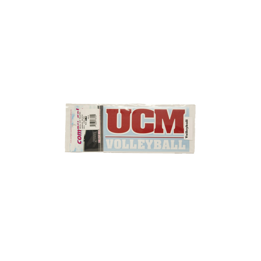 "Cover Image For UCM VOLLEYBALL DECAL <font color=""red"">Clearance</font>"