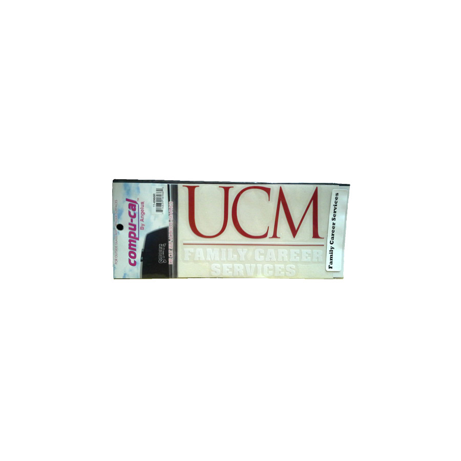 "Image For UCM FAM. CAREER SER. DECAL<font color=""red"">Clearance</font>"