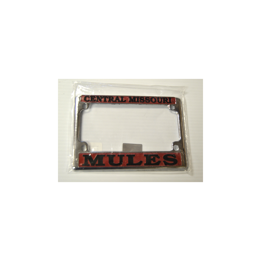 "Image For MOTORCYCLE PLATE FRAME <font color=""red"">Clearance</font>"
