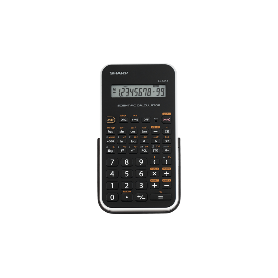 Image For EL-501XB-WH CALCULATOR