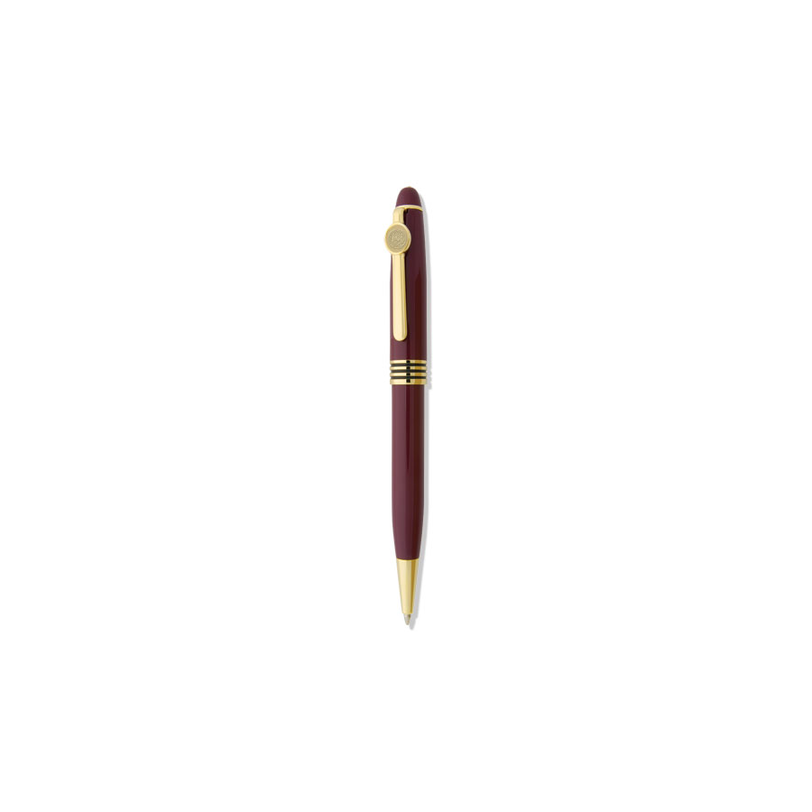 Image For BALL-POINT PEN-BURGUNDY - DS