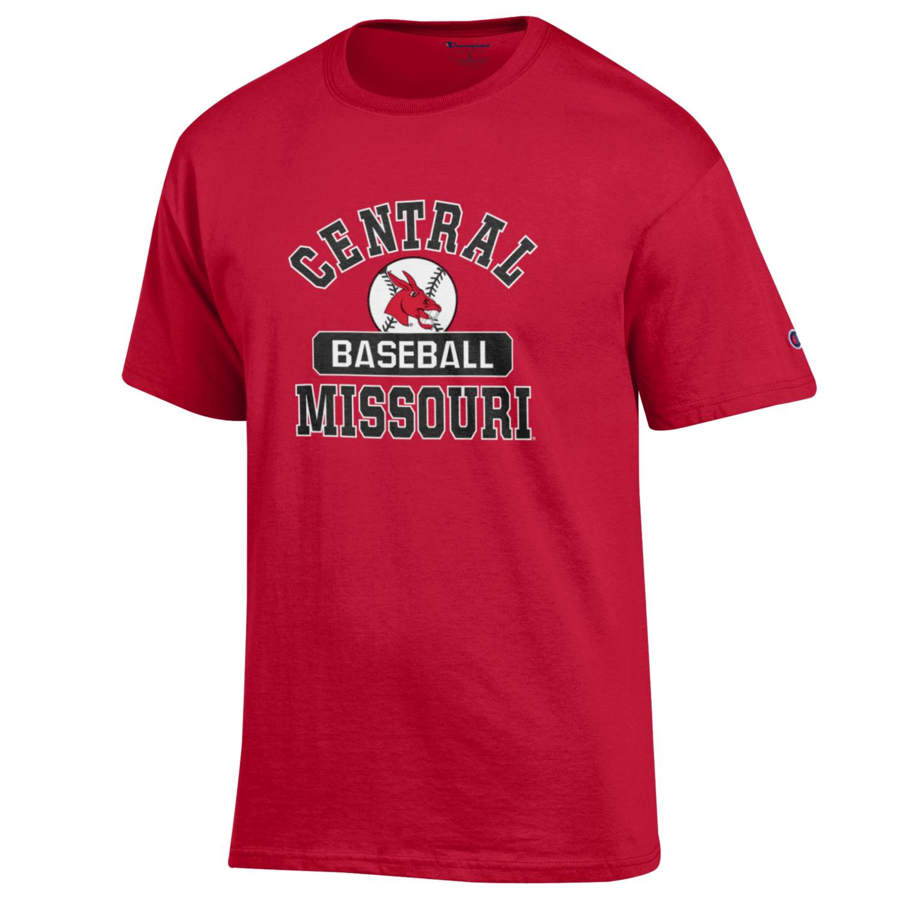 Image For CENTRAL MISSOURI BASEBALL TEE