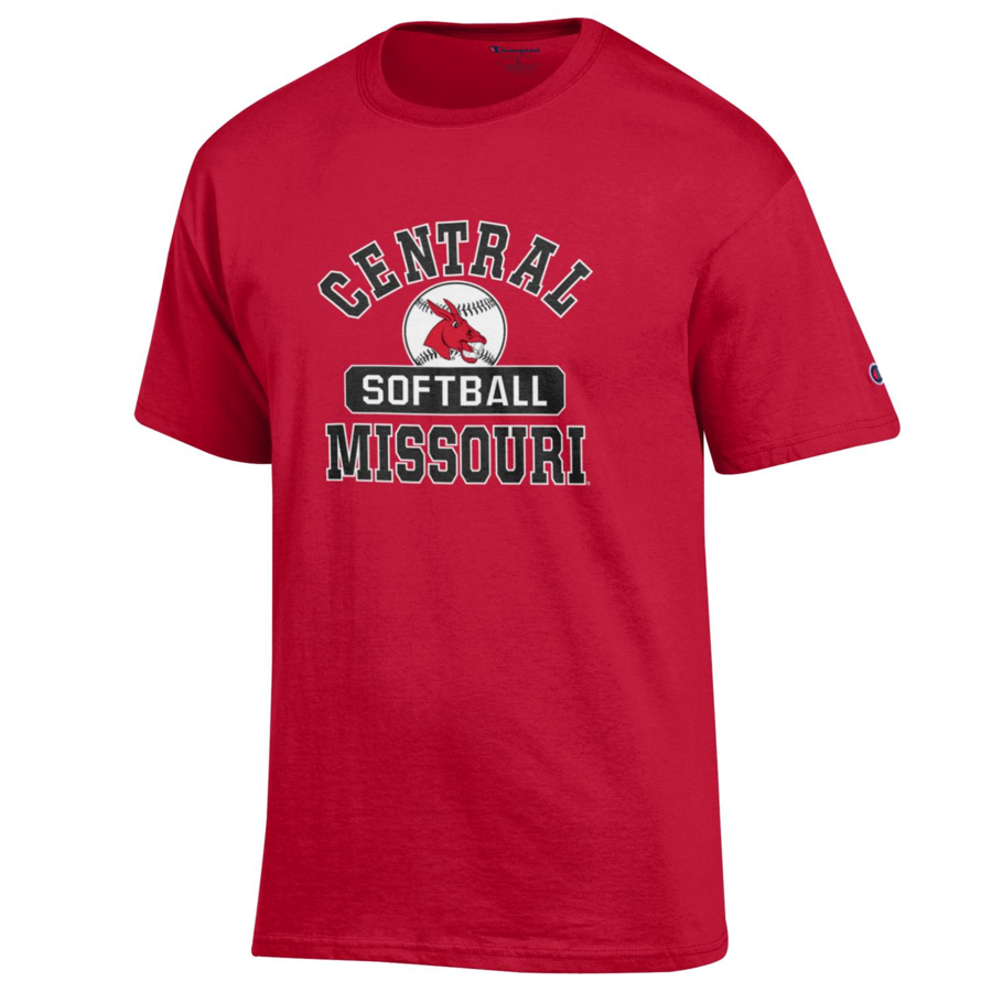 Image For CENTRAL MISSOURI SOFTBALL TEE