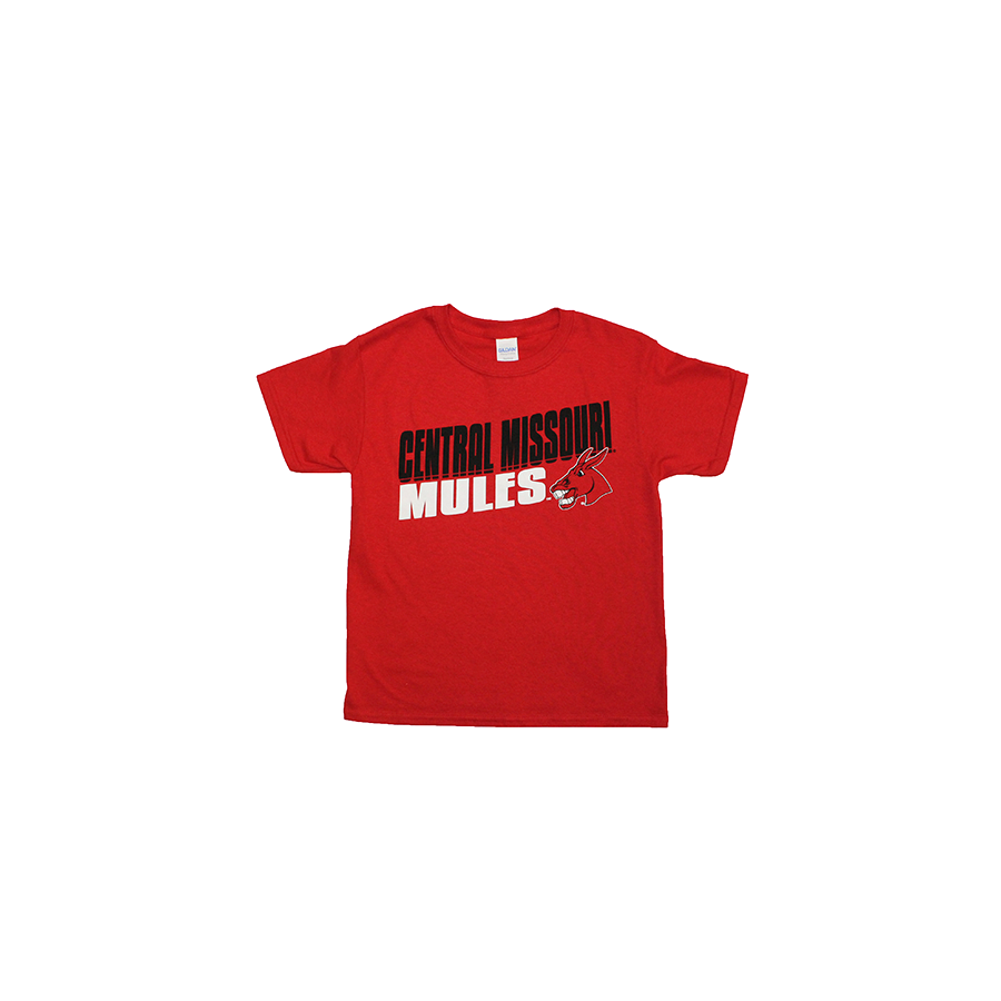Image For YOUTH CENTRAL MISSOURI MULES TEE
