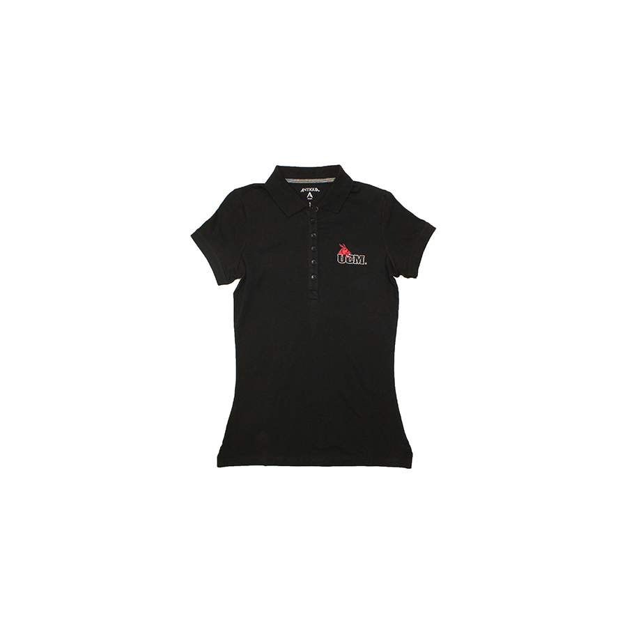 Image For CENTRAL MISSOURI LADIES BLACK POLO