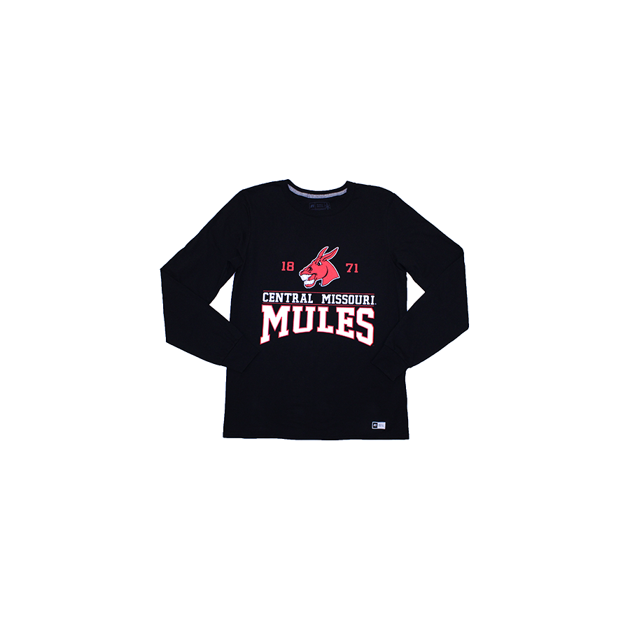 Image For CENTRAL MISSOURI MULES LONG SLEEVE