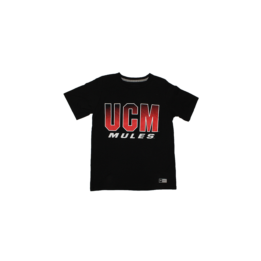 Image For UCM MULES YOUTH TEE