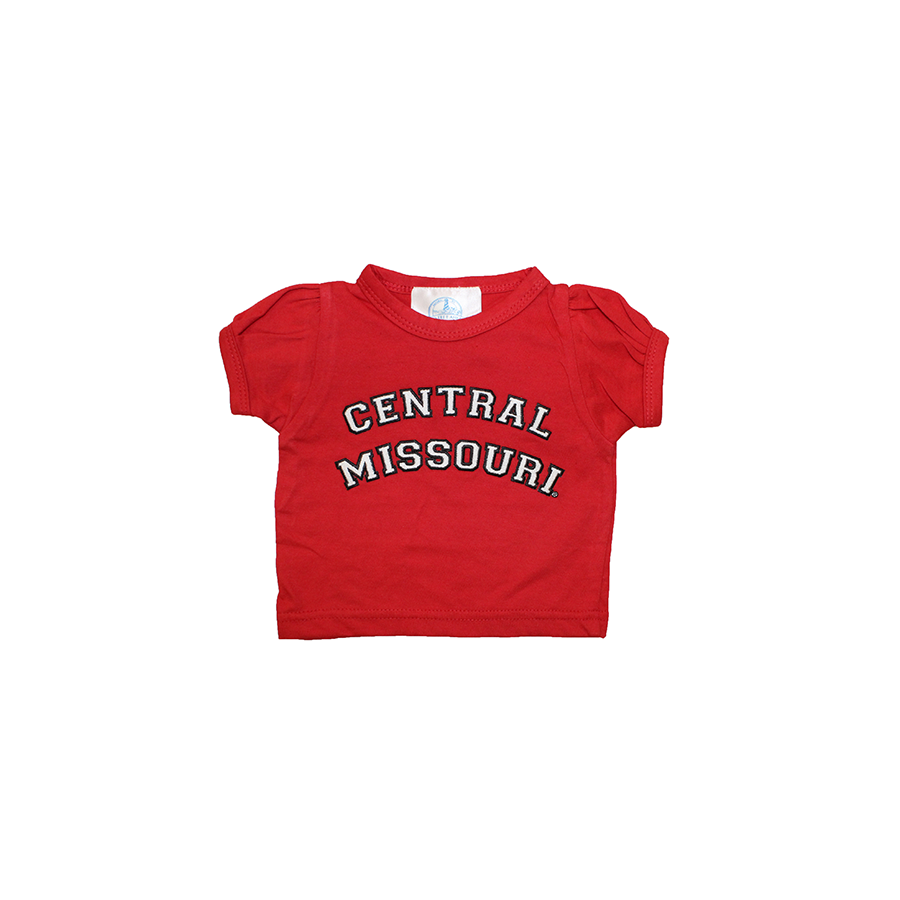 Image For CENTRAL MISSOURI YOUTH PUFF SLEEVE TEE