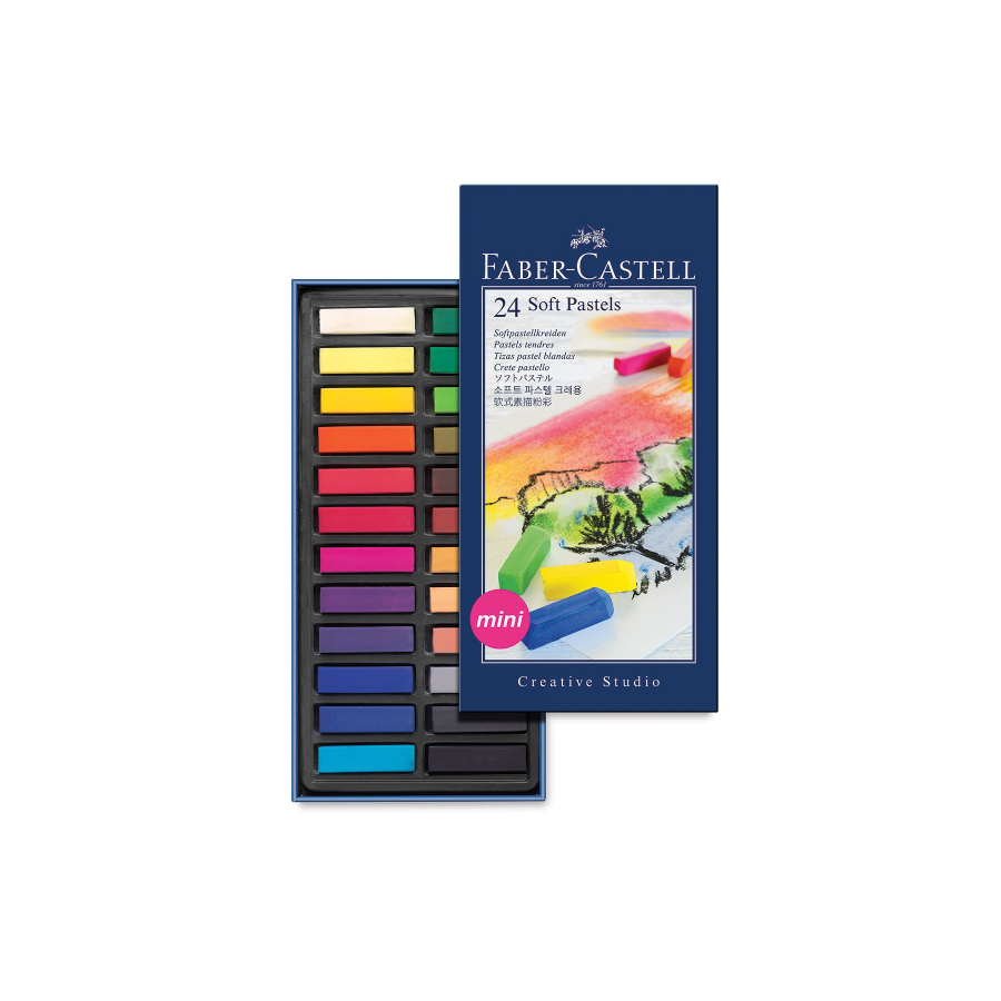 Image For Faber-Castell®-Creative Studio Soft Pastel 24-Color Set