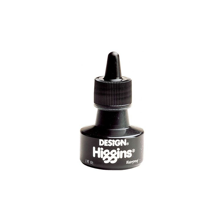Image For Higgins® Waterproof Black Ink