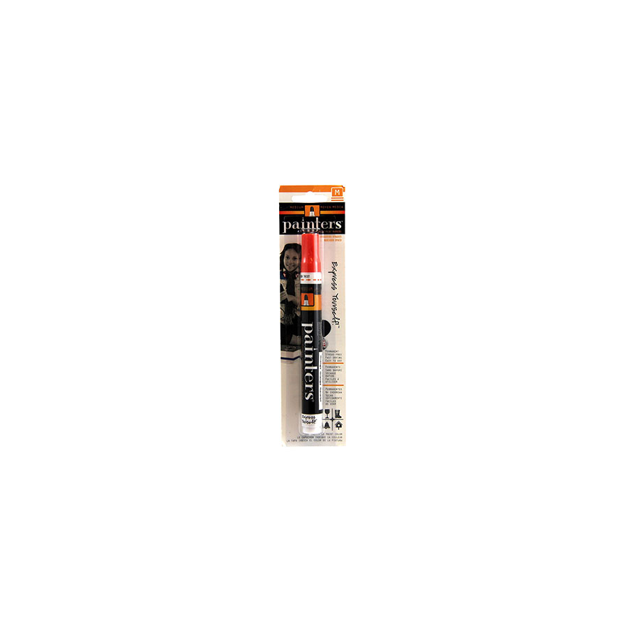 Image For Elmers Orange Medium Painters Paint Markers