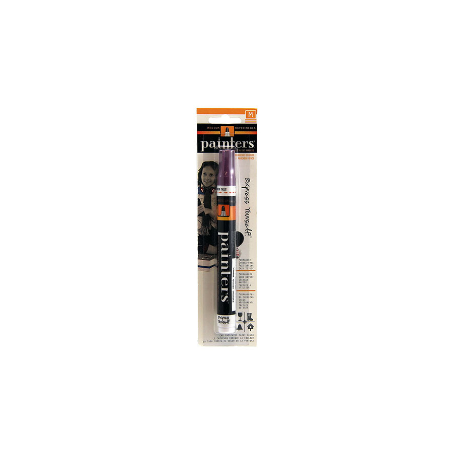 Image For Elmers Purple Medium Painters Paint Markers
