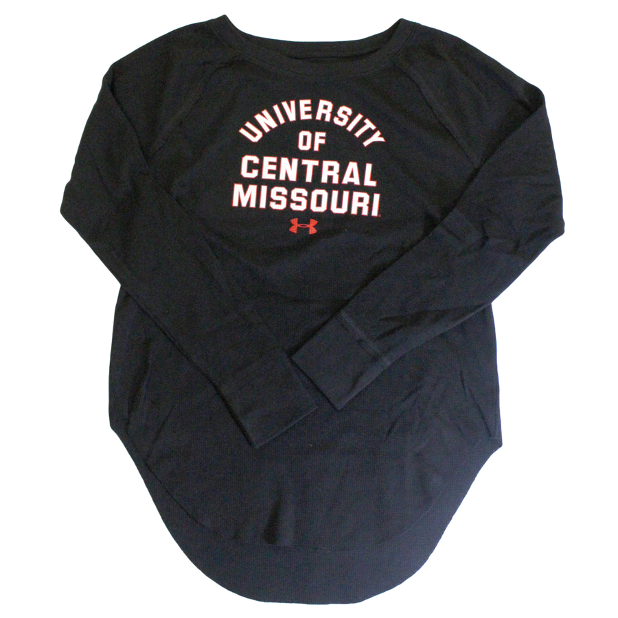 Image For LADY UNDER ARMOUR UNIVERSITY OF CENTRAL MISSOURI LONG SLEEVE