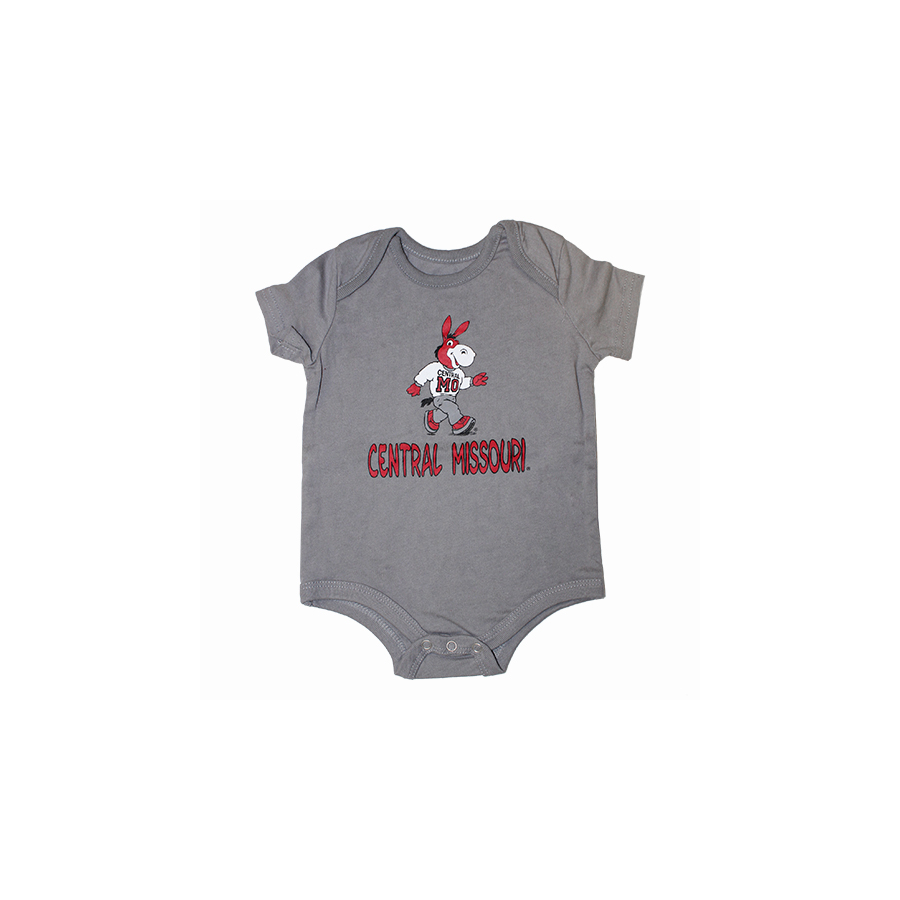 Cover Image For MASCOT CENTRAL MISSOURI ONESIE