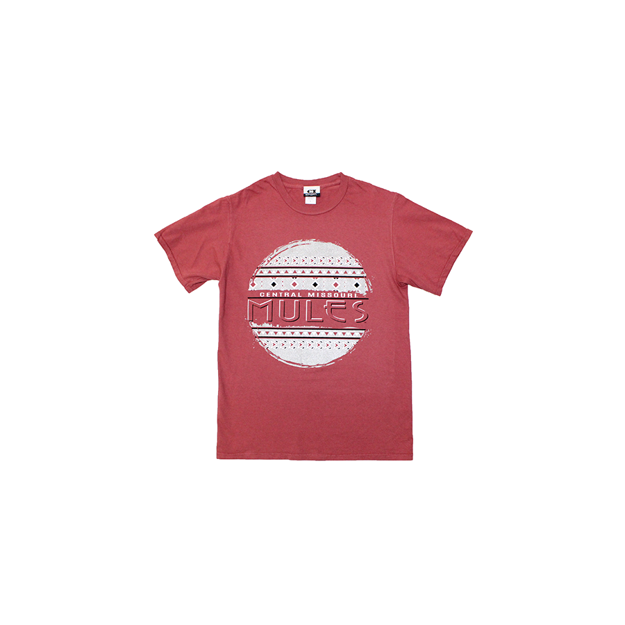 Image For CENTRAL MISSOURI MULES GLITTER TEE