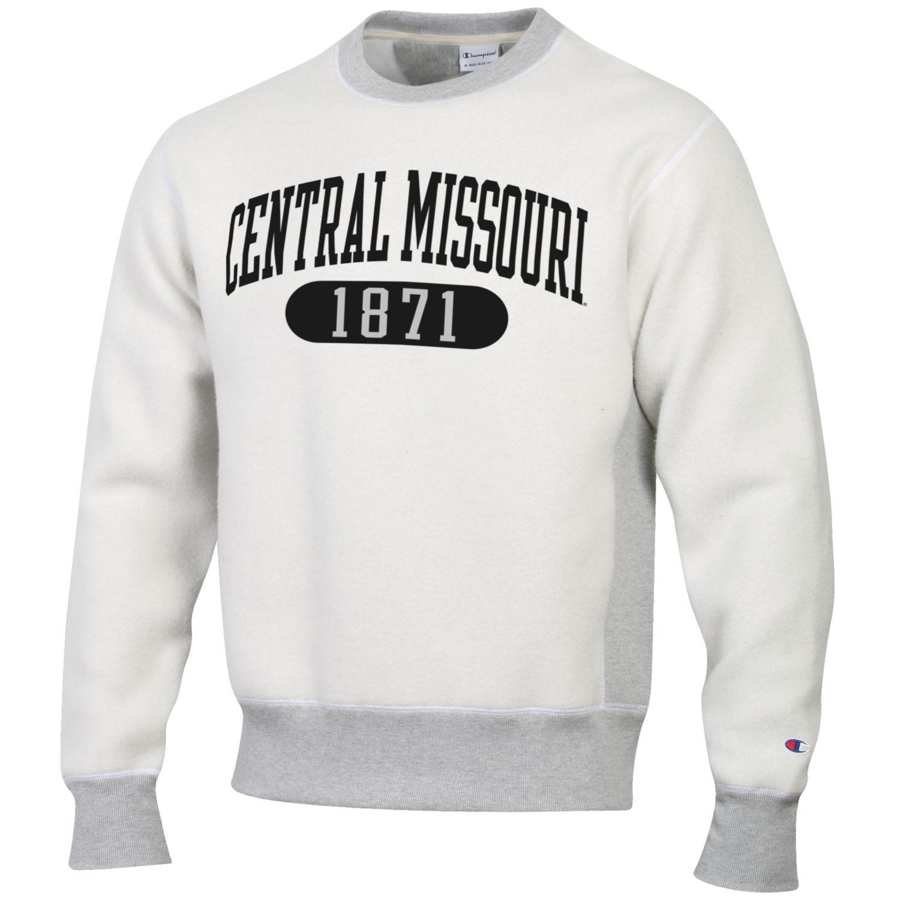 Cover Image For CENTRAL MISSOURI 1871 REVERSE WEAVE CREWNECK