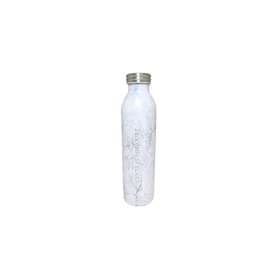 Image For CENTRAL MISSOURI MULES MARBLE VACUUM TUMBLER 20 OZ