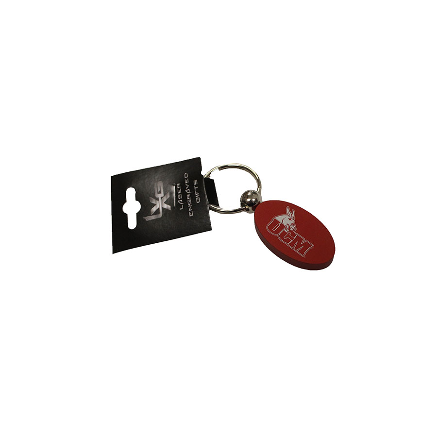 Image For MATTE RED UCM KEYCHAIN
