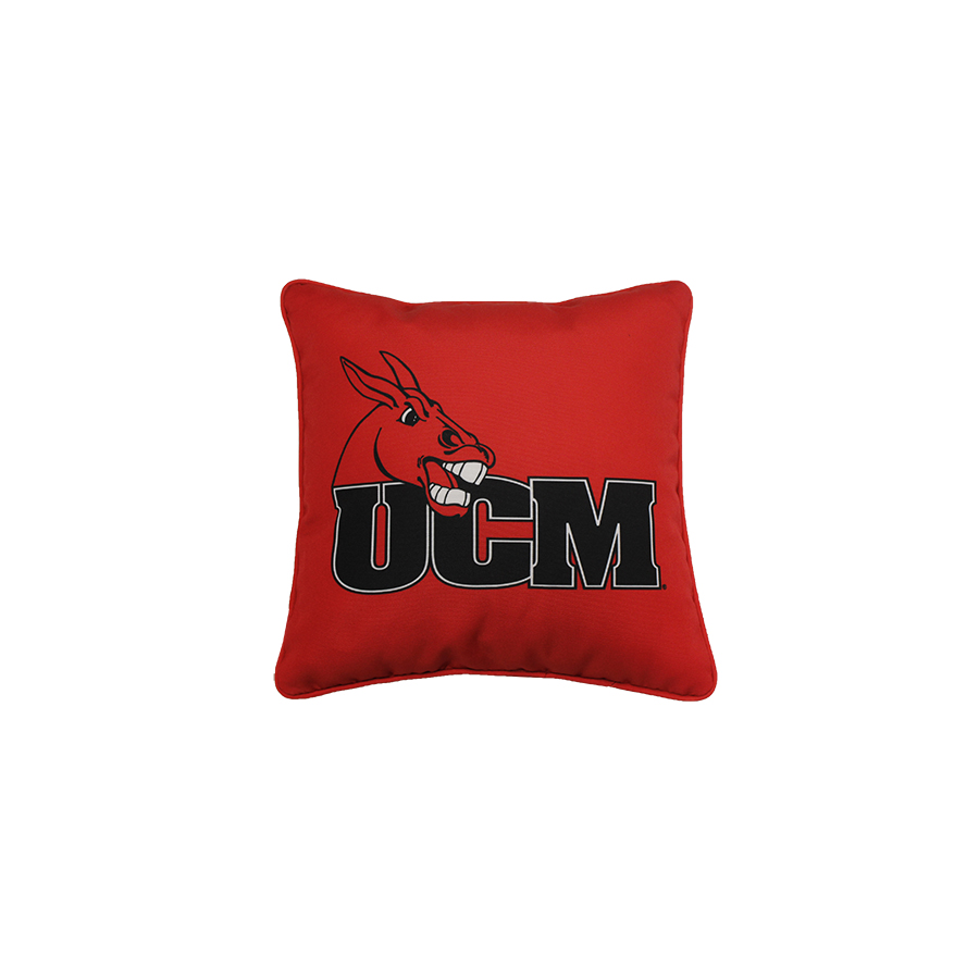 Image For UCM MULES THROW PILLOW