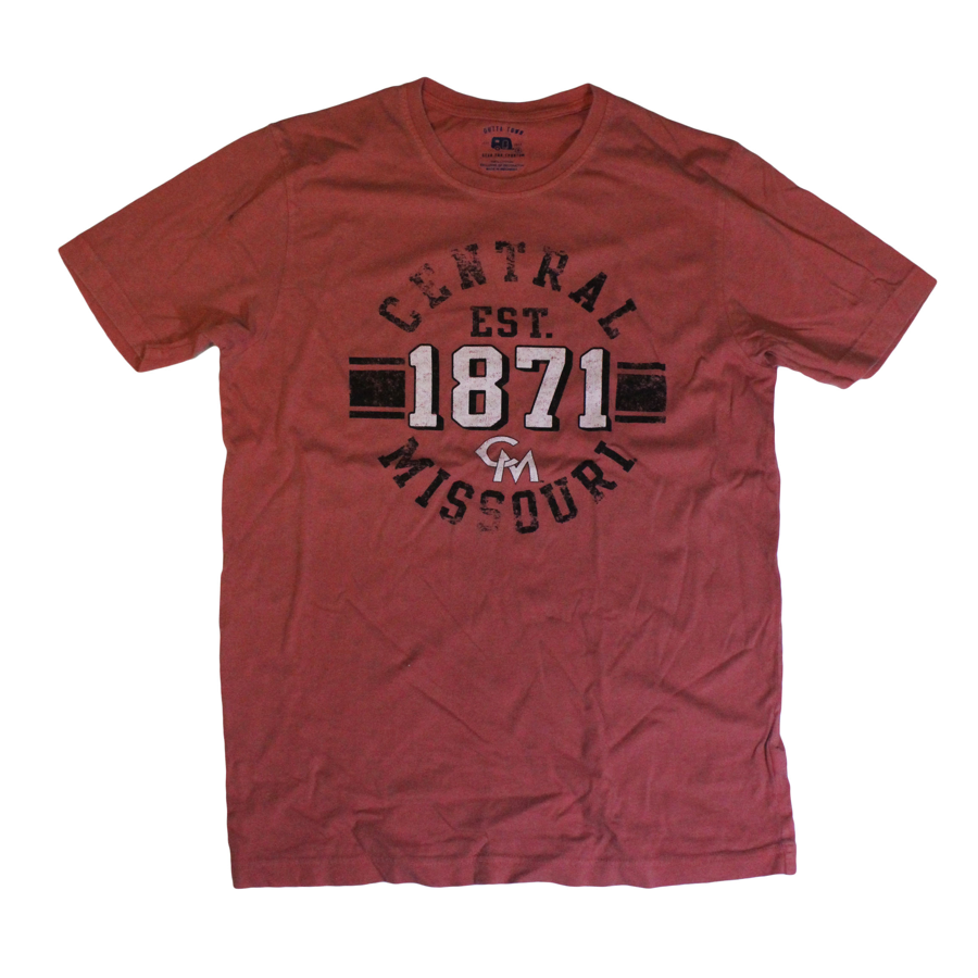 Image For CENTRAL MISSOURI EST. 1871 SHORT SLEEVE TEE