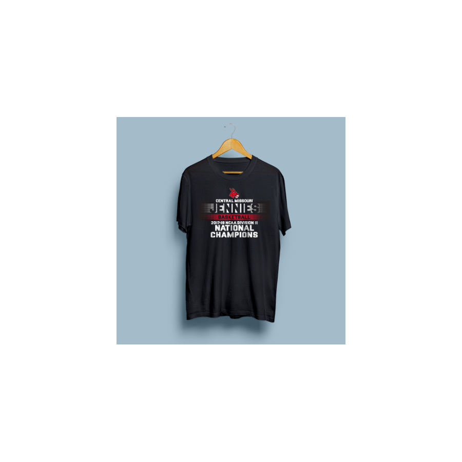 Image For 2018 NCAA DII BASKETBALL JENNIES NATIONAL CHAMPIONS TEAM TEE