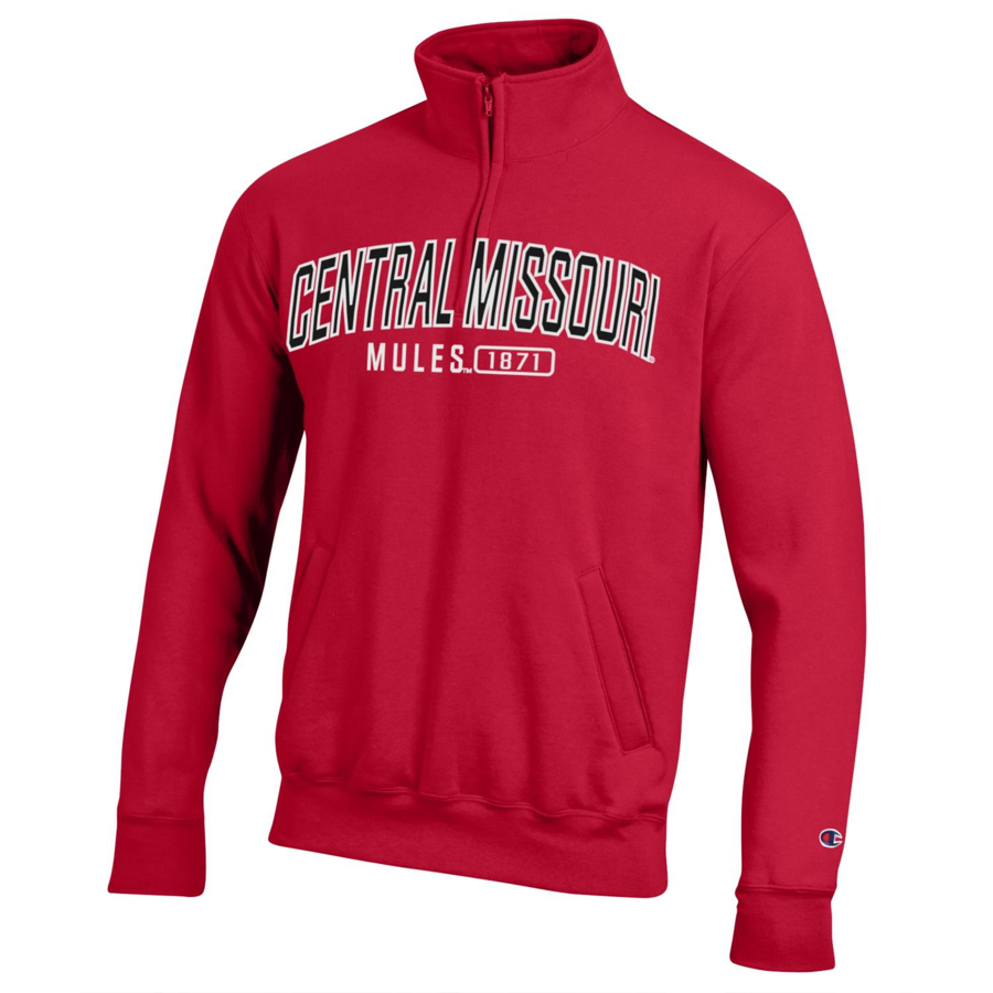 Cover Image For CENTRAL MISSOURI 1/4 ZIP