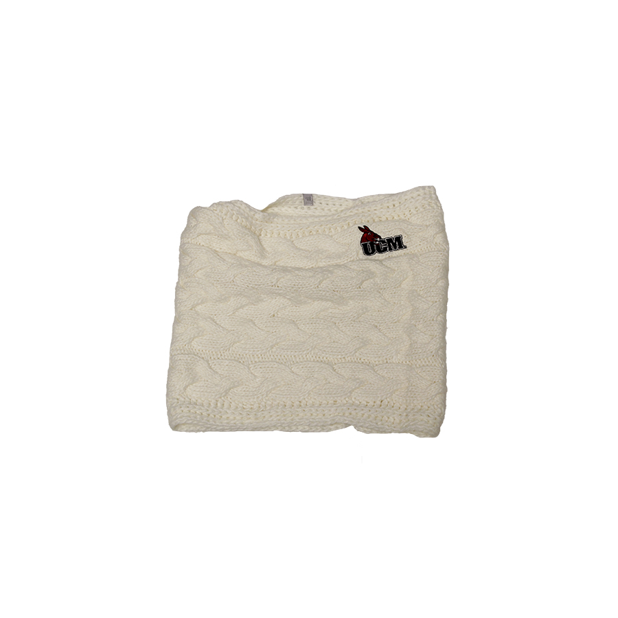 Image For UCM CREAM SCARF