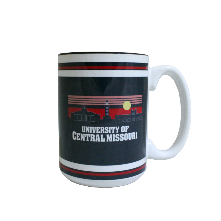 Image For UNIVERSITY OF CENTRAL MISSOURI SKYLINE MUG