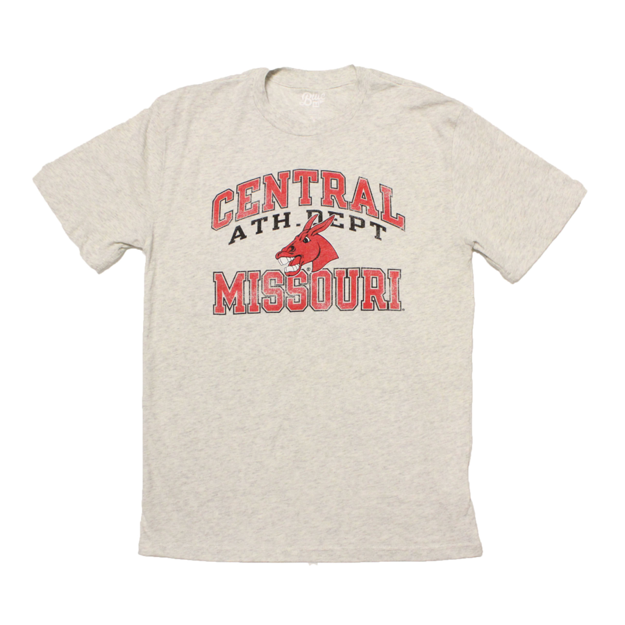Image For ATHLETIC DEPARTMENT CENTRAL MISSOURI TEE