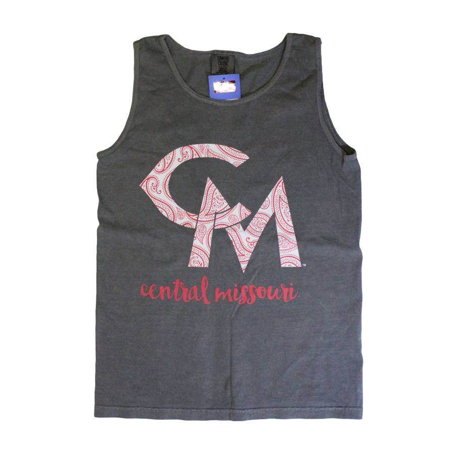 Image For LADIES CENTRAL MISSOURI PAISLEY TANK