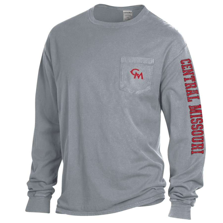 Image For 'CM' POCKET LONG SLEEVE TEE