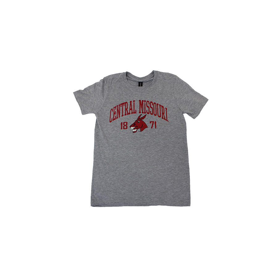 Image For CENTRAL MISSOURI 1871 TRI-BLEND TEE