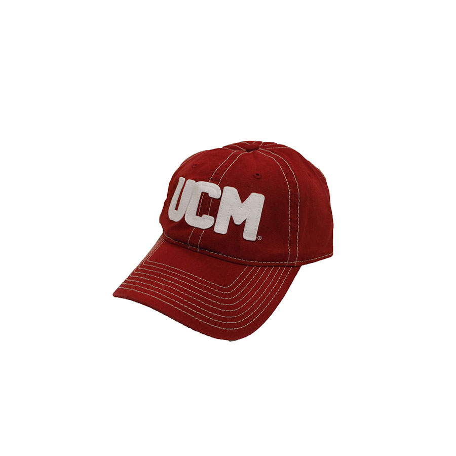 Image For RED UCM CANVAS CAP