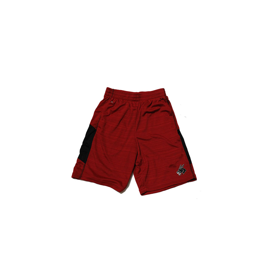Image For RED MEN'S MULE SHORTS
