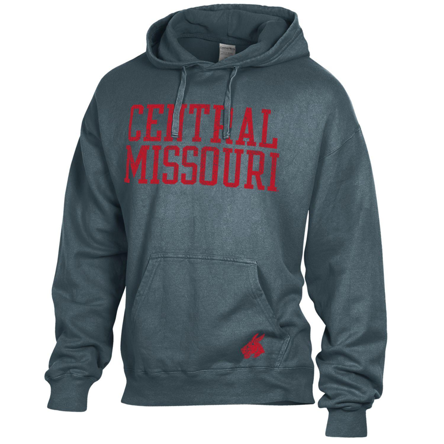 Cover Image For CENTRAL MISSOURI COMFORT WASH DYED HOODIE