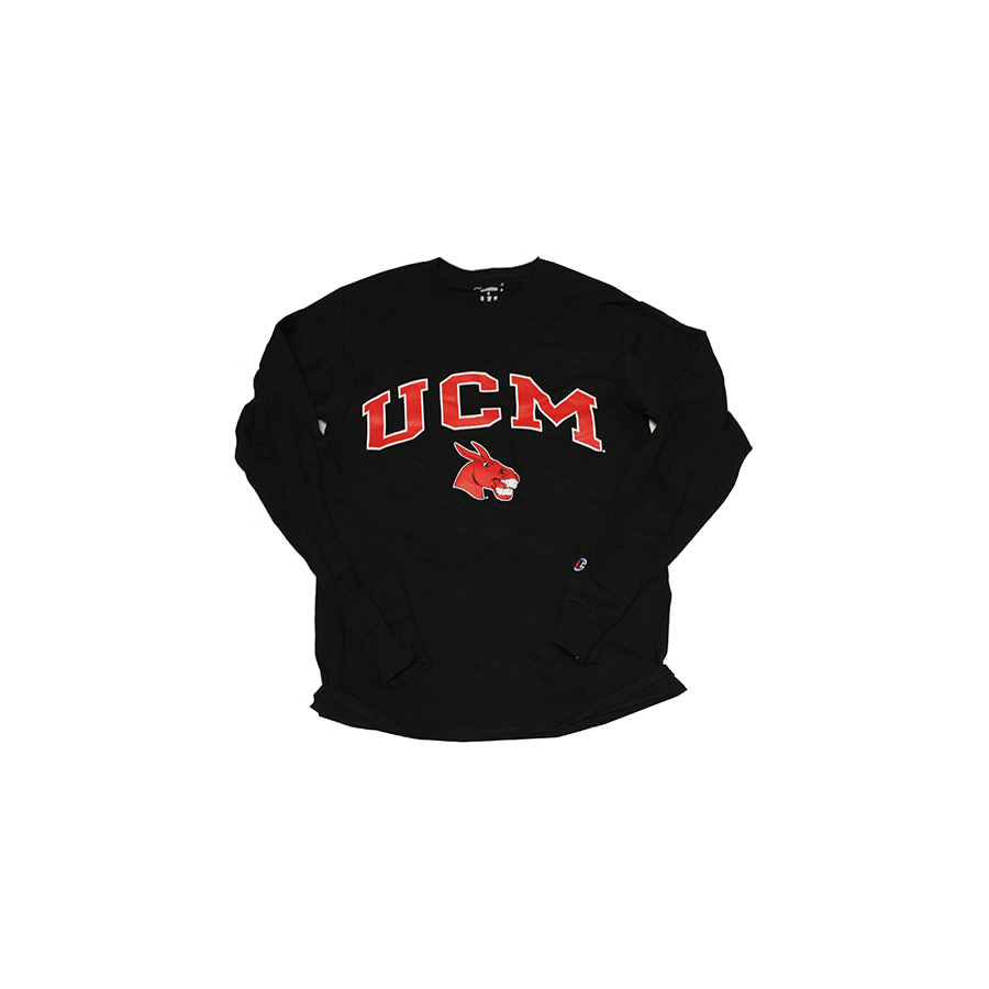 Image For BLACK UCM MULE LONG SLEEVE TEE