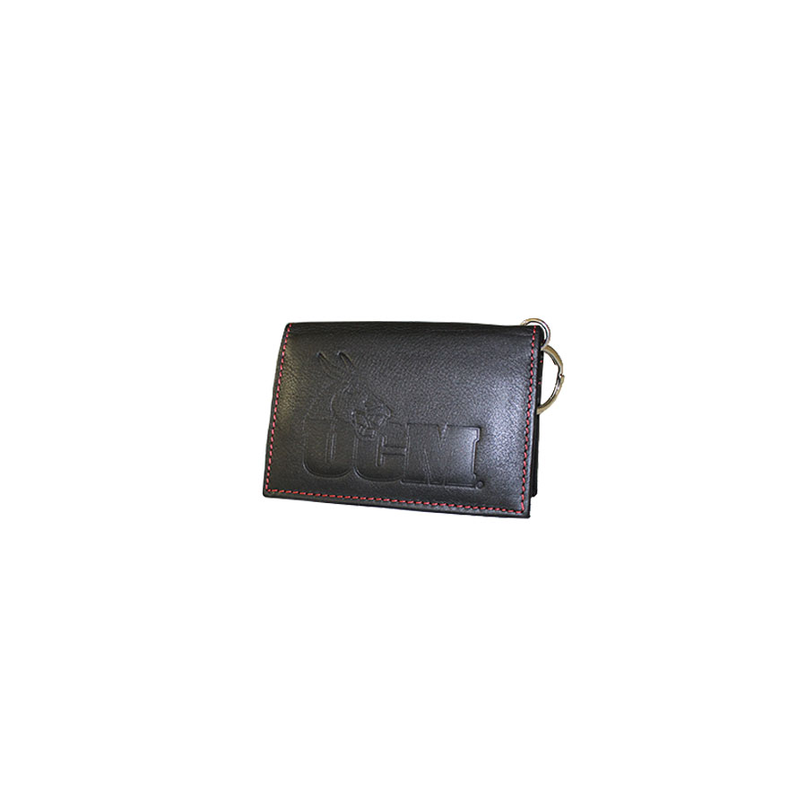Image For RED STITCHED UCM ID HOLDER