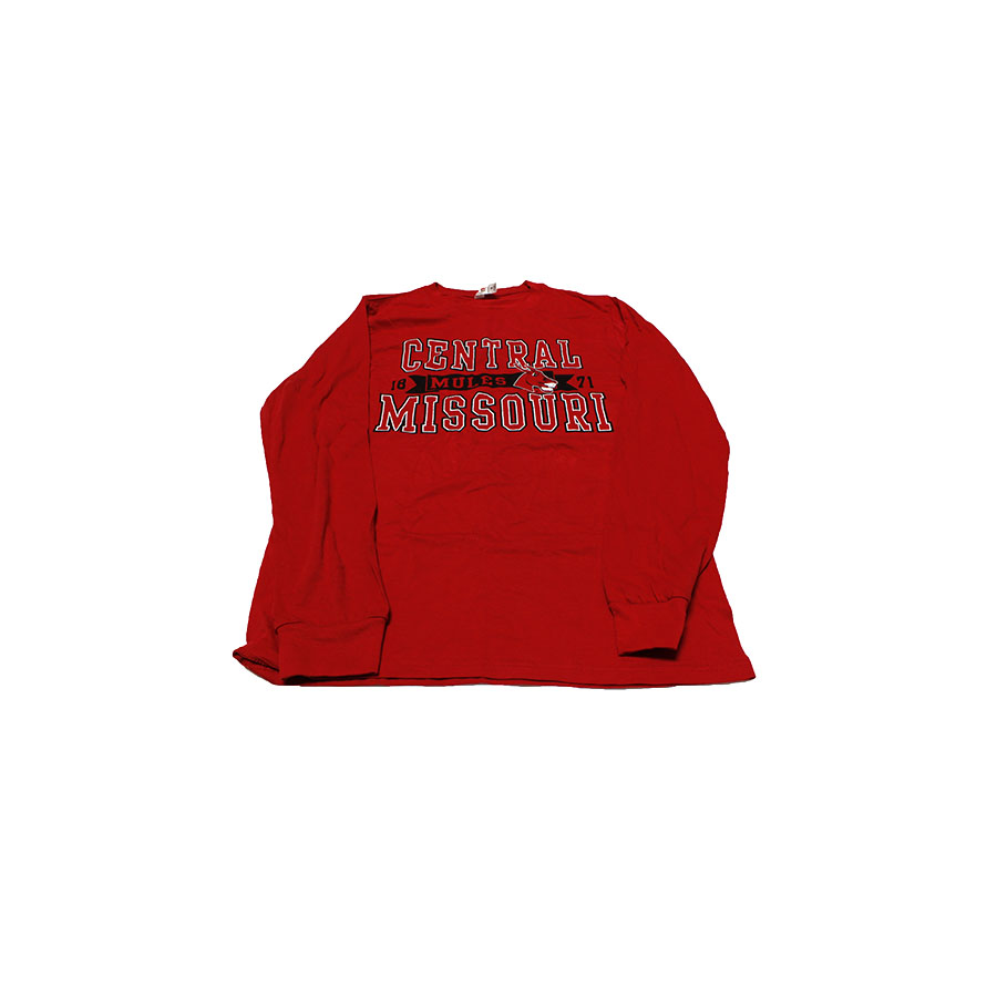 Image For CENTRAL MISSOURI MULES LONG SLEEVE TEE