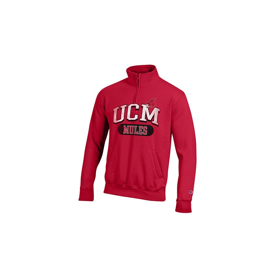 Cover Image For CHAMPION 1/4 ZIP UCM PULLOVER