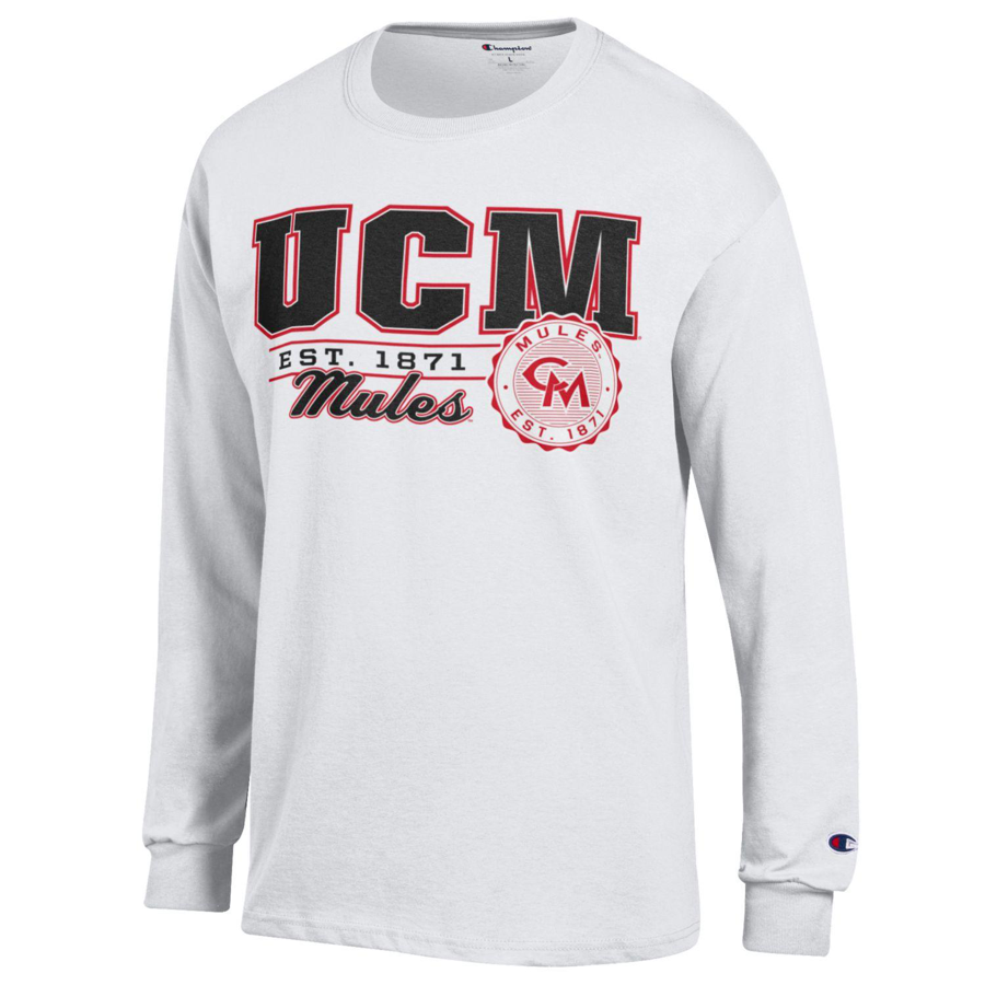Image For CHAMPION CLASSIC UCM LONG SLEEVE TEE