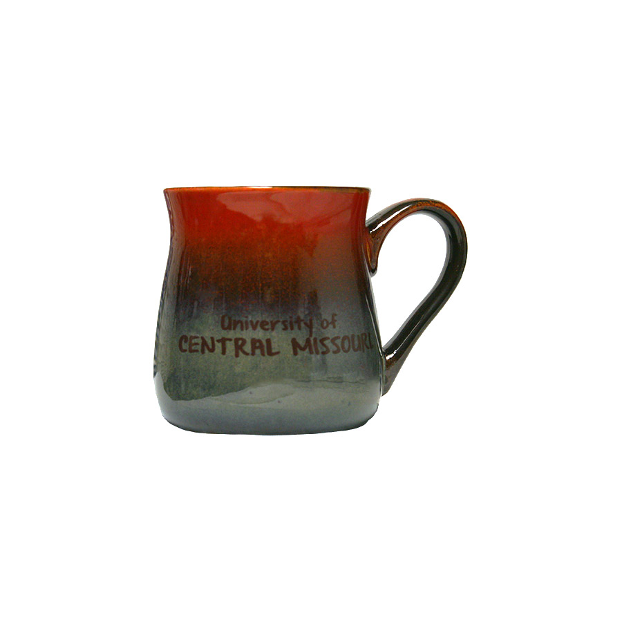 Image For POTTERY STYLE MULTI-COLOR MUG