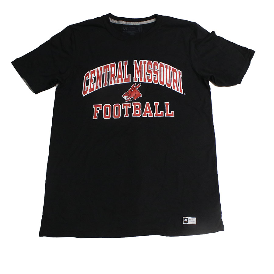 Image For CENTRAL MISSOURI FOOTBALL TEE