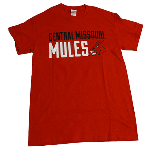 Image For 2/$20 CENTRAL MISSOURI MULES TEE
