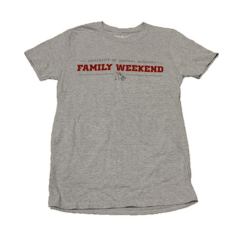 Image For 2019 UCM FAMILY WEEKEND SHIRT