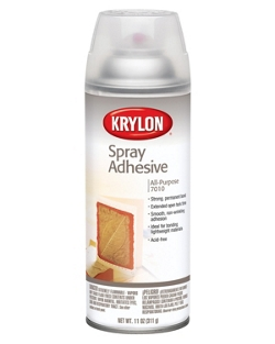 Cover Image For Krylon All-Purpose Spray Adhesive-7010