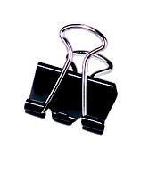 "Image For Binder Clips, 1 1/4"" Medium, 12/pk"