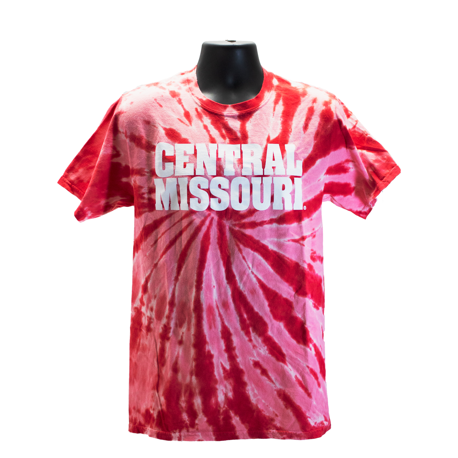 Image For CENTRAL MISSOURI TIE DYE TEE